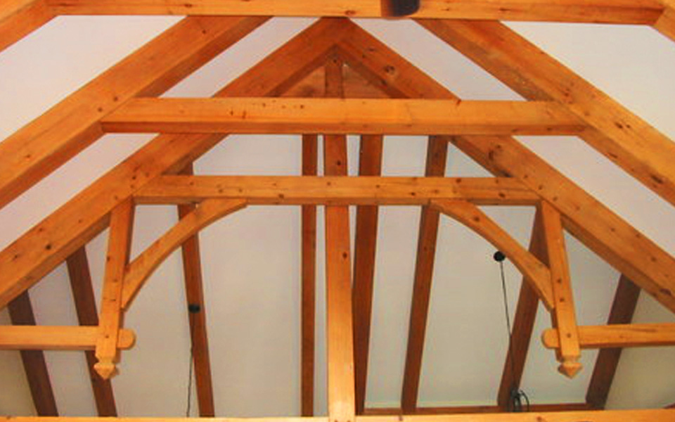 timber frame beams