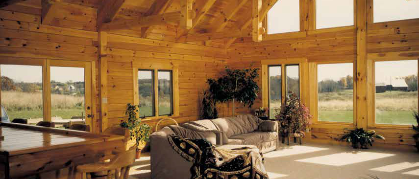 crockett log homes & timber frames