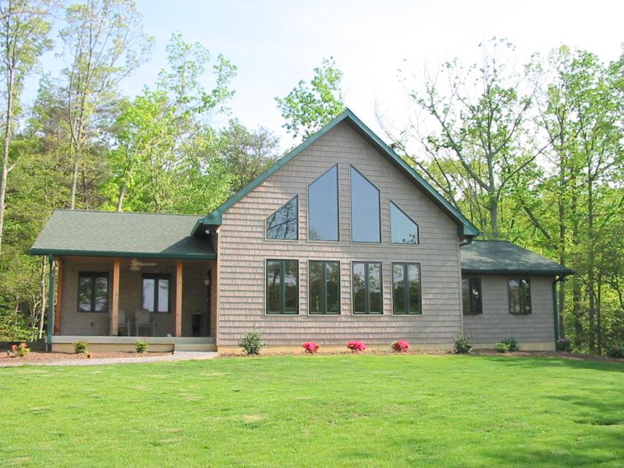 Chesapeake Post & Beam home